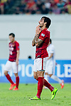 Guangzhou Forward Ricardo Goulart reacts the ball during the AFC Champions League 2017 Round of 16 match between Guangzhou Evergrande FC (CHN) vs Kashima Antlers (JPN) at the Tianhe Stadium on 23 May 2017 in Guangzhou, China. (Photo by Power Sport Images/Getty Images)
