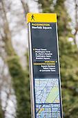 Information board, Norfolk Square, Paddington.
