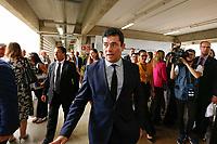 FOZ DO IGUAÇU, PR, 07.11.2019 – MINISTRO-MORO -  O ministro da Justiça e Segurança Pública, Sérgio Moro, durante 50º reunião de Ministros da Justiça do Mercosul e Estados Associados no parque tecnológico Itaipu (PTI) na tarde desta quinta-feira (07) em Foz do Iguaçu (PR).(Foto: Paulo Lisboa/Brazil Photo Press/Folhapress)
