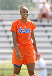 Florida's Ashlee Elliott on Sunday September 17th, 2006 at Koskinen Stadium on the campus of the Duke University in Durham, North Carolina. The University of North Carolina Tarheels defeated the University of Florida Gators 1-0 in an NCAA Division I Women's Soccer game.