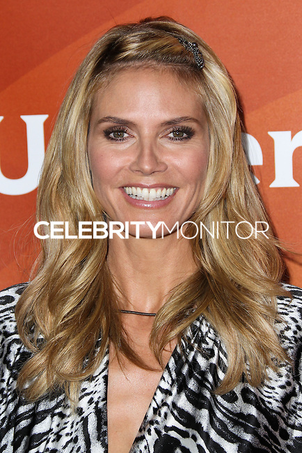 PASADENA, CA, USA - APRIL 08: Heidi Klum at the NBCUniversal Summer Press Day 2014 held at The Langham Huntington Hotel and Spa on April 8, 2014 in Pasadena, California, United States. (Photo by Xavier Collin/Celebrity Monitor)