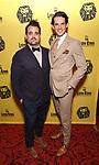 Greg Hildreth and Kevin Del Aguila attends the 20th Anniversary Performance of 'The Lion King' on Broadway at The Minskoff Theatre on November 5, 2017 in New York City.
