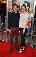 Glenn Howerton &amp; Jill Latiano at the world premiere for &quot;Fist Fight&quot; at the Regency Village Theatre, Westwood, Los Angeles, USA 13 February  2017<br /> Picture: Paul Smith/Featureflash/SilverHub 0208 004 5359 sales@silverhubmedia.com