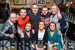 Austin Stacks Strictly Come Dancing members enjoying a night out in the Brogue Inn, Tralee on Saturday night last, front l-r: Helen Enright, Ann Harty and Grainne O'Sullivan. Back l-r: Jonathan Lynch, Patrick Fitzgibbon, Mike Hurley, Pa Lynch and Michael Murphy.