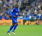 Leicester's N?Golo Kante in action during the Barclays Premier League match at the King Power Stadium.  Photo credit should read: David Klein/Sportimage