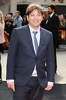 "Gareth Edwards arrives for the ""Godzilla"" premiere at the Odeon Leicester Square, London. 11/05/2014 Picture by: Steve Vas / Featureflash"