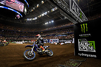 SX2 / Jackson Richardson (USA)<br /> Monster Energy Aus-XOpen<br /> Supercross &amp; FMX International<br /> Qudos Bank Arena, Olympic Park NSW<br /> Sydney AUS Saturday 11  November 2017. <br /> &copy; Sport the library / Jeff Crow