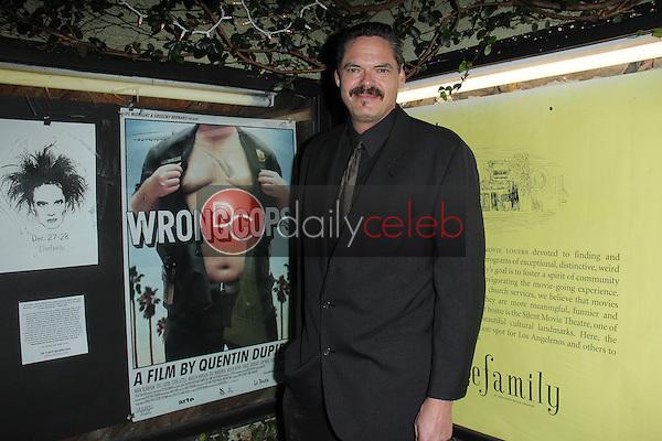 "Mark Burnham<br /> at the ""Wrong Cops"" Opening Week Screening, Cinefamily Silent Movie Theater, Los Angeles, CA 12-27-13<br /> David Edwards/DailyCeleb.Com 818-249-4998"