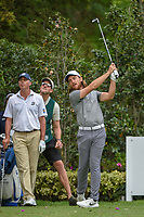 Tommy Fleetwood (ENG) watches his tee shot on 17 during round 2 of the World Golf Championships, Mexico, Club De Golf Chapultepec, Mexico City, Mexico. 2/22/2019.<br /> Picture: Golffile | Ken Murray<br /> <br /> <br /> All photo usage must carry mandatory copyright credit (&copy; Golffile | Ken Murray)