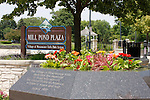 Menomonee Falls Mill Pond Plaza Park and War Memorial