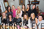 Sanctuary Spa and The Glam Pot Christmas Party at Bella Bia on Saturday. Pictured Karen Glover O'Connor, Mary O'Donoghue, Aileen Goodman, Fiona O'Donoghue, Karen O'Sullivan, Ciara Murphy, Back L to R Debra Ambrose, Moira Fitzgerald, Stephanie Dowling, Maria Kean, Merissa Prendiville, Rachel Prendiville