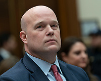 Acting Attorney General Matthew G. Whitaker appears before the United States House Judiciary Committee on Capitol Hill in Washington, DC, February 8, 2019. Credit: Chris Kleponis / CNP/AdMedia