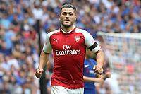 Sead Kolasinac of Arsenal during Arsenal vs Chelsea, FA Community Shield Football at Wembley Stadium on 6th August 2017