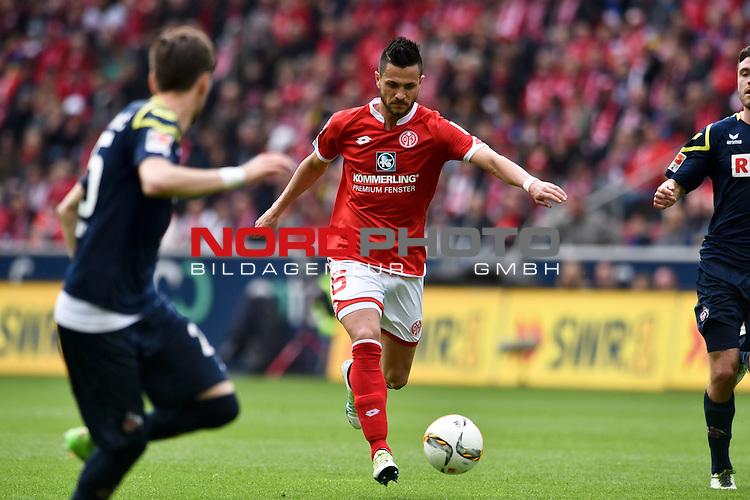 17.04.2016, Coface-Arena, Mainz, GER, 1. FBL, 1. FSV Mainz 05 vs. 1. FC Koeln, im Bild: Danny Latza (#6, FSV Mainz)<br /> <br /> Foto &copy; nordphoto / Fabisch
