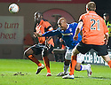 :: DUNDEE UTD'S MORGARO GOMIS PULLS DOWN RANGERS' EL HADJI DIOUF FOR HIS RED CARD :: .19/04/2011   Copyright  Pic : James Stewart.sct_jsp024_dundee_utd_v_rangers .James Stewart Photography 19 Carronlea Drive, Falkirk. FK2 8DN      Vat Reg No. 607 6932 25.Telephone      : +44 (0)1324 570291 .Mobile              : +44 (0)7721 416997.E-mail  :  jim@jspa.co.uk.If you require further information then contact Jim Stewart on any of the numbers above.........