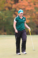 Ohio University Women's Golf Team compete in the MAC Women's Golf Preview. October 18th, 2010. Longaburger Golf Club, Nashport, OH.