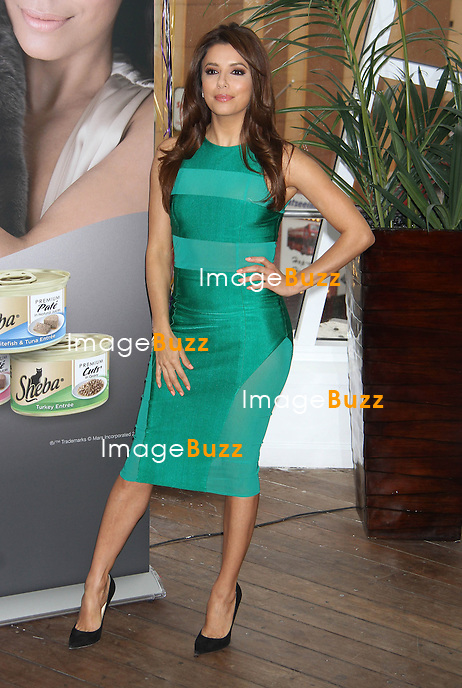 Eva Longoria at a promotional event fo Sheba Cat Food in New York City. New York, March 7, 2013..