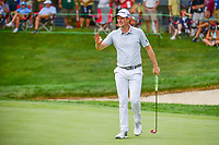 Justin Rose (ENG) during the first round of the WGC Bridgestone Invitational, Firestone country club, Akron, Ohio, USA. 03/08/2017.<br /> Picture Ken Murray / Golffile.ie<br /> <br /> All photo usage must carry mandatory copyright credit (&copy; Golffile | Ken Murray)