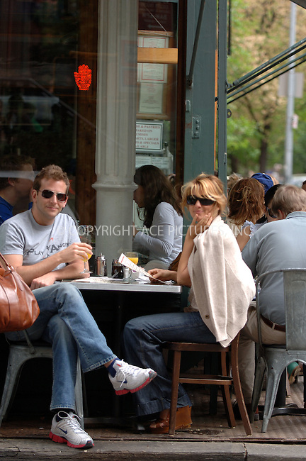 WWW.ACEPIXS.COM . . . . .  ....May 7 2006, New York City....**EXCLUSIVE-FEE MUST BE AGREED BEFORE USE**....Actors Bradley Cooper (who is currently playing in 'Three days of rain' with Julia Roberts) and Jennifer Esposito were having lunch together in the West Village.....Please byline: BRETT KAFFEE-ACEPIXS.COM.... *** ***..Ace Pictures, Inc:  ..(212) 243-8787 or (646) 769 0430..e-mail: picturedesk@acepixs.com..web: http://www.acepixs.com