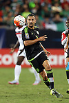15 July 2015: Yasser Corona (MEX). The Mexico Men's National Team played the Trinidad & Tobago Men's National Team at Bank of America Stadium in Charlotte, NC in a 2015 CONCACAF Gold Cup Group C match. The game ended in a 4-4 tie.