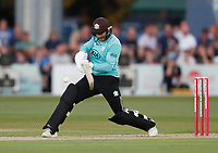 Mark Stoneman bats for Surrey during Kent Spitfires vs Surrey, Vitality Blast T20 Cricket at the St Lawrence Ground on 23rd August 2019