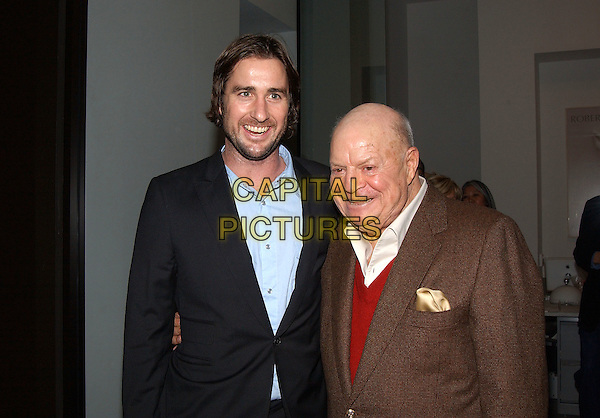 LUKE WILSON & DON RICKLES.Robert Graham's Collective Art Work Celebration held at ACE Gallery. Beverly Hills, California.February 23rd, 2005.Photo Credit: Laura Farr/AdMedia.half length stubble facial hair hankerchief.www.capitalpictures.com.sales@capitalpictures.com.© Capital Pictures.