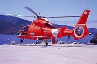 U.S. Coast Guard Rescue helicopter , Catalina Island, CA.