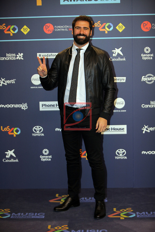 Los 40 MUSIC Awards 2016 - Photocall.<br /> Jorge Cremades.