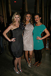 All My Children's Stephanie Gatschet & Chrishell Stause & Melissa Claire Egan at Marcia Tovsky's Holiday/Bon Voyage Party for AMC on December 1, 2009 at Nikki Midtown, New York City, New York. (Photo by Sue Coflin/Max Photos)