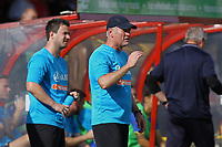 Woking manager Alan Dowson during Woking vs Solihull Moors, Vanarama National League Football at The Laithwaite Community Stadium on 24th August 2019