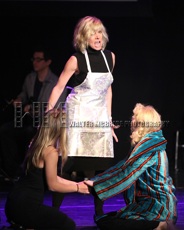 Savannah Wise, Debby Boone, Nellie McKay.Performing in 'Things Can't always Be Awesome'.at The 24 Hour Musicals after performance party at the Gramercy Theatre in New York City.