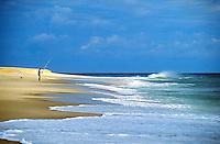 Beach erosion, Nauset beach, Orleans, Cape Cod National seashore, MA<br />