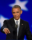 United States President Barack Obama makes remarks during the third session of the 2016 Democratic National Convention at the Wells Fargo Center in Philadelphia, Pennsylvania on Wednesday, July 27, 2016.<br /> Credit: Ron Sachs / CNP<br /> (RESTRICTION: NO New York or New Jersey Newspapers or newspapers within a 75 mile radius of New York City)