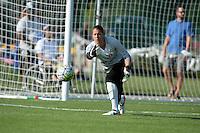 Kansas City, MO - Saturday June 25, 2016:  Nicole Barnhart during a regular season National Women's Soccer League (NWSL) match at Swope Soccer Village.