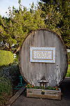 A barrel at the Claiborne and Churchill Winery in San Luis Obispo, California December 20, 2014.