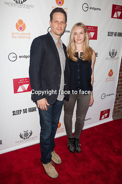 NEW YORK, NY - MAY 30: Josh Charles and Sophie Flack attend EndGame: The Global Campaign to defeat AIDS, TB And Malaria charity event at The McKittrick Hotel on May 30, 2013 in New York City. Credit: &copy; Corredor99 / MediaPunch Inc.<br />