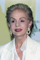 Carolina Herrera, 2005, Photo By John Barrett/PHOTOlink