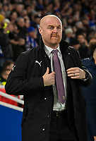 Burnley manager Sean Dyche <br /> <br /> Photographer David Horton/CameraSport<br /> <br /> The Premier League - Brighton and Hove Albion v Burnley - Saturday 9th February 2019 - The Amex Stadium - Brighton<br /> <br /> World Copyright &copy; 2019 CameraSport. All rights reserved. 43 Linden Ave. Countesthorpe. Leicester. England. LE8 5PG - Tel: +44 (0) 116 277 4147 - admin@camerasport.com - www.camerasport.com