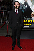 "WESTWOOD, CA, USA - FEBRUARY 24: Scoot McNairy at the World Premiere Of Universal Pictures And Studiocanal's ""Non-Stop"" held at Regency Village Theatre on February 24, 2014 in Westwood, Los Angeles, California, United States. (Photo by Xavier Collin/Celebrity Monitor)"
