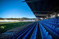 A general view of the stadium before the Rugby Championship match between the New Zealand All Blacks and Argentina Pumas at Trafalgar Park in Nelson, New Zealand on Saturday, 8 September 2018. Photo: Dave Lintott / lintottphoto.co.nz