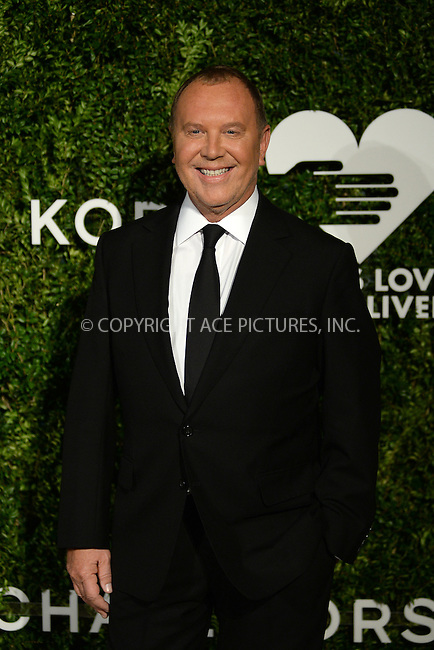 www.acepixs.com<br /> October 17, 2016  New York City<br /> <br /> Michael Kors attending the God's Love We Deliver Golden Heart Awards on October 17, 2016 in New York City.<br /> <br /> <br /> Credit: Kristin Callahan/ACE Pictures<br /> <br /> <br /> Tel: 646 769 0430<br /> Email: info@acepixs.com