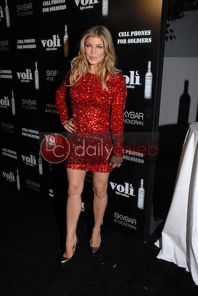 Fergie<br /> at Voli Light Vodka's Holiday Party, SkyBar, West Hollywood, CA 12-06-12<br /> David Edwards/DailyCeleb.com 818-249-4998