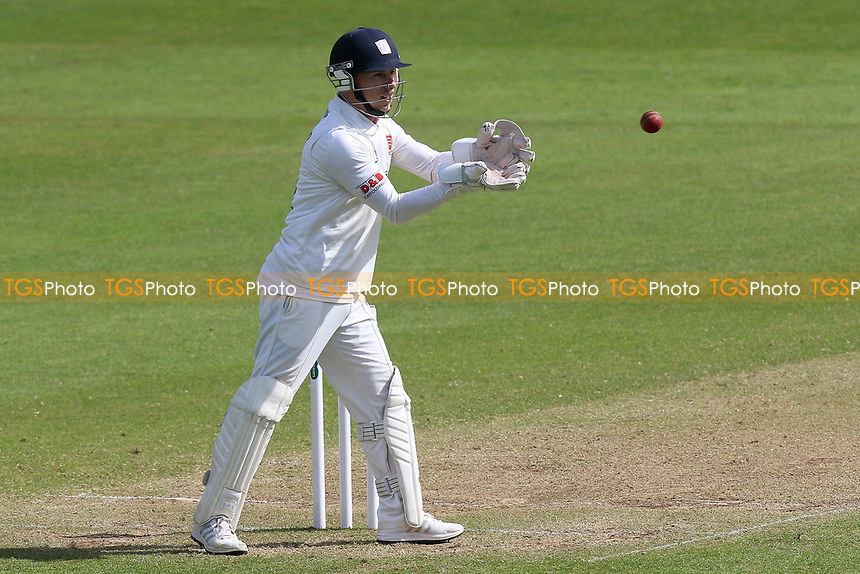 Adam Wheater of Essex during Somerset CCC vs Essex CCC, Specsavers County Championship Division 1 Cricket at The Cooper Associates County Ground on 15th April 2017