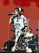 BILLIE EILISH: LIVE: 2019: performing live on the Other Stage at the 2019 Glastonbury Festival Somerset UK - 30 Jun 2019.  Photo credit: Zaine Lewis/IconicPix/AtlasIcons.com