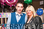 18th Birthday : PJ Foley, Listowel celebrating his 18th birthday with his mother Hannah Finucane at the Rising Sun Bar, Listowel on Friday night last.