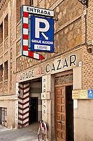 Parking garage, Toledo, Spain