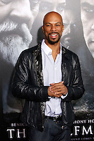 US rapper Common arrives at the US/LA premiere of 'The Wolfman' in Los Angeles, California 09 February 2010. Upon his return to his ancestral homeland, an American man (Del Toro) is bitten, and subsequently cursed by, a werewolf..Photo by Nina Prommer/Milestone Photo