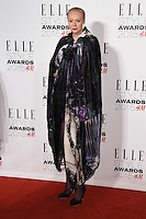 Gwendoline Christie at the Elle Style Awards 2015 at Sky Bar, Walkie Talkie Building, London, 24/02/2015 Picture by: Steve Vas / Featureflash