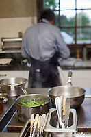 Europe/France/Rhone-Alpes/07/Ardéche/Saint-Agrève: Hôtel Faurie - Philippe Bouissou en cuisine