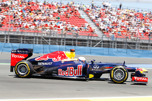 23 06 2012 FIA Formula One World Championship 2012 Grand Prix of Europe. Sebastien Vatttle during qualification